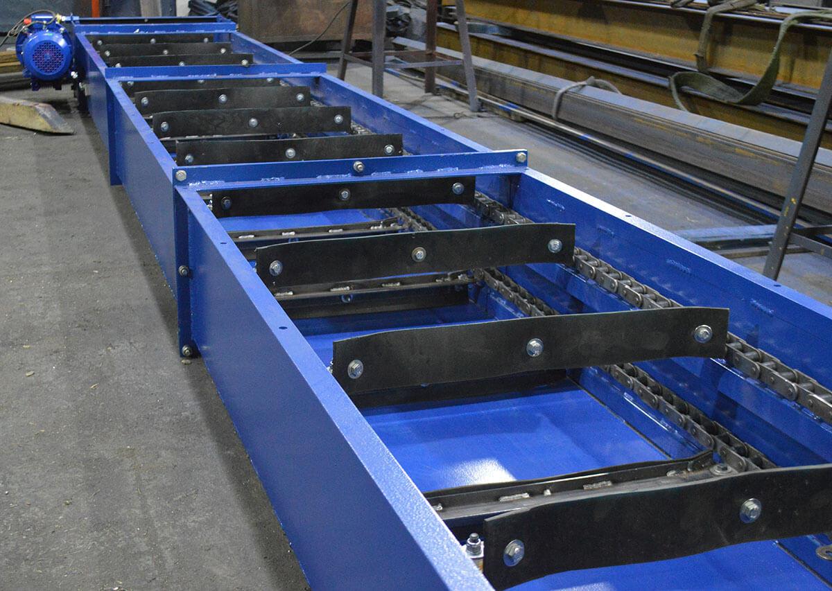 Изготовление скребкового транспортера элеватор город мелеуз